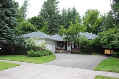 Coeur D'alene Single Family Home For Sale: 2404 E Thomas Hill Dr
