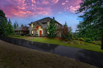 Coeur D'alene Single Family Home For Sale: 1238 S Reynolds Rd