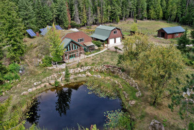 Sandpoint Single Family Home For Sale: 347 Homestead Loop