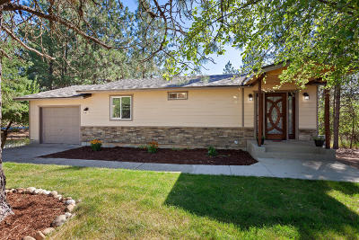 Coeur D'alene Single Family Home For Sale: 6817 E French Gulch Rd