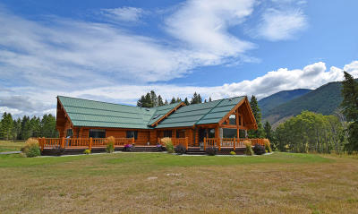 Bonners Ferry Single Family Home For Sale: 3880 Paradise Valley Rd