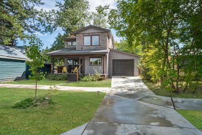 Sandpoint Single Family Home For Sale: 1105 Oak St
