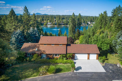 Coeur D'alene Single Family Home For Sale: 8481 W Riverview Dr
