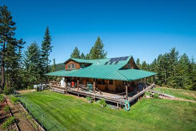 Harrison Single Family Home For Sale: 6474 E Lamb Rd