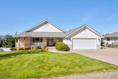 Coeur D'alene Single Family Home For Sale: 8009 N Westview Dr
