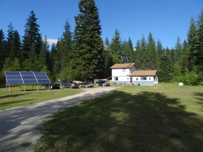 Priest Lake, Priest River Single Family Home For Sale: 3823 Lwr Quartz Crk Rd.