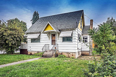 Coeur D'alene Single Family Home For Sale: 1518 N 3rd St