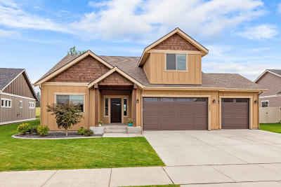Rathdrum Single Family Home For Sale: 14094 N Pristine Circle