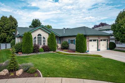 Coeur D'alene Single Family Home For Sale: 5863 N Magellan Court