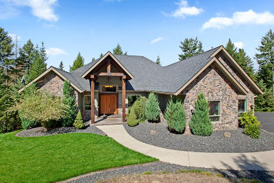 Coeur D'alene Single Family Home For Sale: 4325 S Cloudview Dr