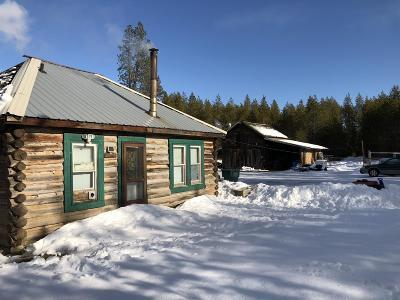 Bonner County, Kootenai County Single Family Home For Sale: 17320 E Perimeter Rd