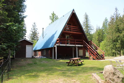 Sandpoint Single Family Home For Sale: 946 Homestead Lp L2&3