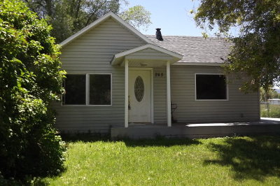 Rockland Single Family Home For Sale: 245 W Kootenai Street