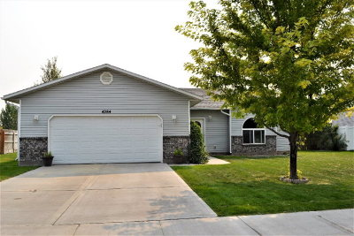 Ammon Single Family Home For Sale: 4284 Frontier Drive