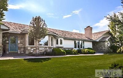 Idaho Falls Single Family Home For Sale: 4690 Sagewood Drive