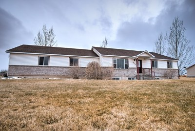 Rigby Single Family Home For Sale: 3884 E 12 N