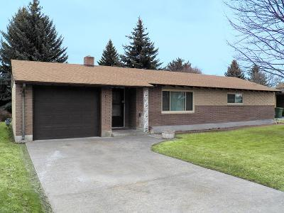 Blackfoot Single Family Home For Sale: 616 S Fisher Avenue