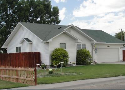 Blackfoot Single Family Home For Sale: 1249 Wagon Wheel Road
