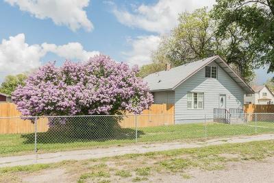 Blackfoot Single Family Home For Sale: 289 E Francis