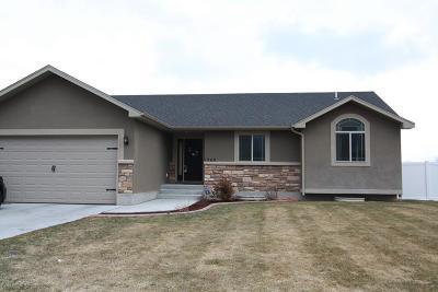 Ammon Single Family Home For Sale: 1260 Portalstone Drive