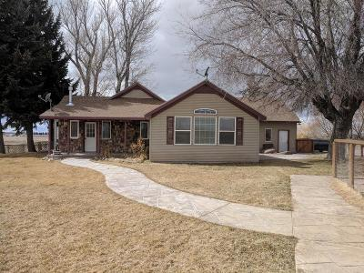 Blackfoot Single Family Home For Sale: 126 N 150 W