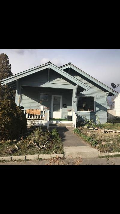 Idaho Falls ID Single Family Home For Sale: $95,000