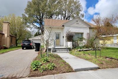 Shelley Single Family Home For Sale: 338 N Park Avenue