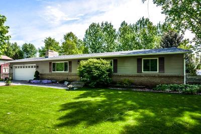 Shelley Single Family Home For Sale: 1447 N 1180 E