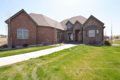 Ammon Single Family Home For Sale: 7827 S Silver Spur Loop