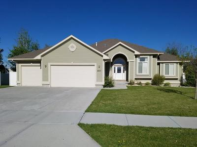 Idaho Falls Single Family Home For Sale: 4201 Silverado Drive