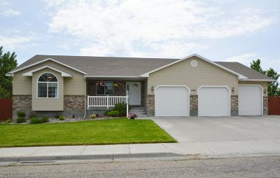 Idaho Falls Single Family Home For Sale: 1525 Blue Ridge Circle