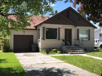 Idaho Falls Single Family Home For Sale: 862 10th Street