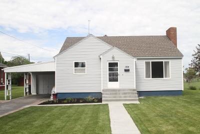 Rigby Single Family Home For Sale: 164 S 3rd W