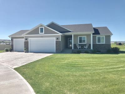Ammon Single Family Home For Sale: 3762 Tawzer Way