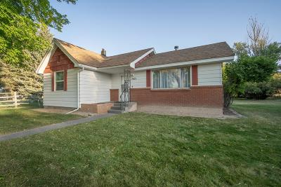 Idaho Falls ID Single Family Home For Sale: $125,900