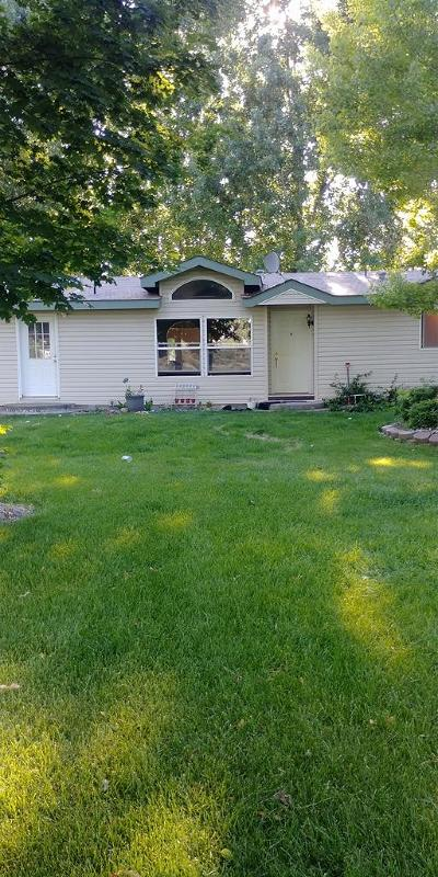 Blackfoot Single Family Home For Sale: 154 N 325 W