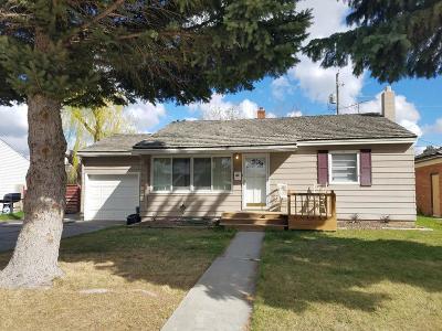 Idaho Falls ID Single Family Home For Sale: $139,500