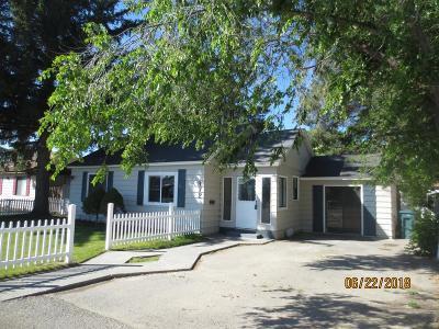 Blackfoot Single Family Home For Sale: 372 E Walker Avenue