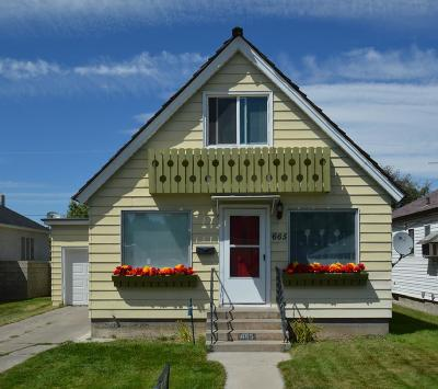 Idaho Falls Single Family Home For Sale: 665 10th Street