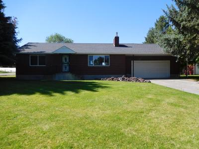 Blackfoot Single Family Home For Sale: 94 N 100 W