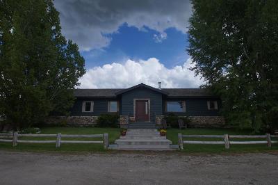 Teton County Single Family Home For Sale: 399 E 4000 S