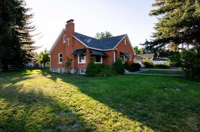 Blackfoot Single Family Home For Sale: 1195 Lansing