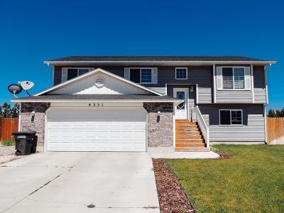 Ammon Single Family Home For Sale: 4351 High Desert Drive