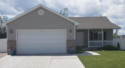 Idaho Falls Single Family Home For Sale: 1217 Preston Drive