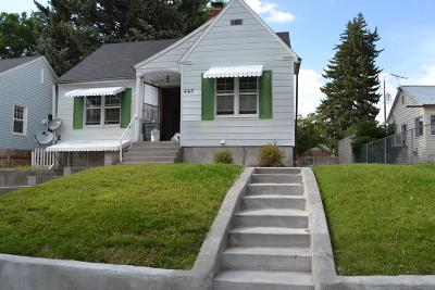 Idaho Falls Single Family Home For Sale: 445 5th Street