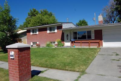 Idaho Falls ID Single Family Home For Sale: $165,000