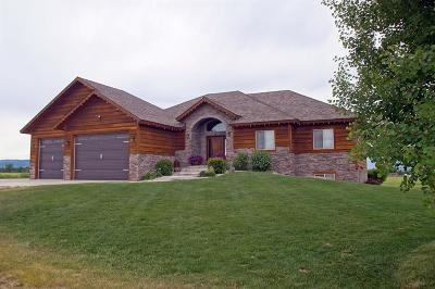Teton County Single Family Home For Sale: 4295 W 1075 N