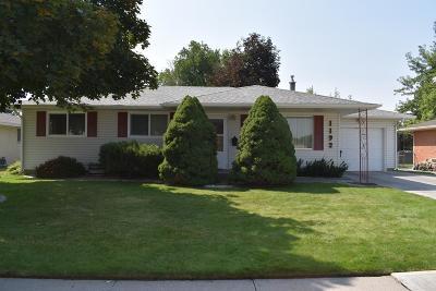 Idaho Falls ID Single Family Home For Sale: $179,000