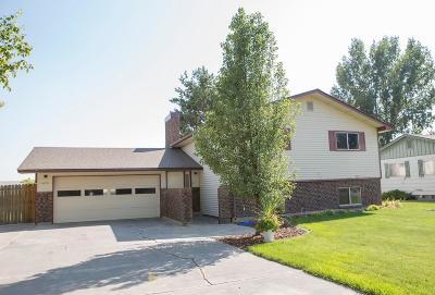 Blackfoot Single Family Home For Sale: 1672 Christensen Drive