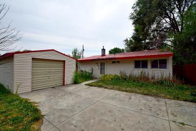 Idaho Falls ID Single Family Home For Sale: $85,000